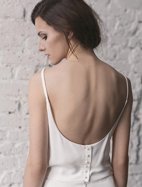 Skromna suknia ślubna. Poznaj wszystkie modele Karolina Twardowska Atelier z kolekcji 2016.