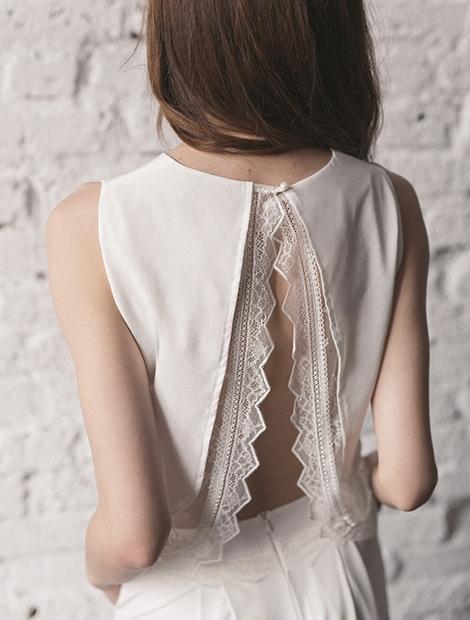Suknia ślubna z kieszeniami. Klasyczny model ze sportowym akcentem. Poznaj wszystkie z suknie Karolina Twardowska Atelier.